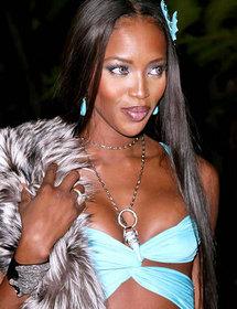 Naomi Campbell: catwalk queen with a temper