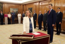Spain's first woman-majority cabinet takes oath of office