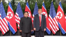 Trump calls Kim 'very talented man' who 'loves his country very much'
