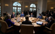 Trump tweets his own G7 photos, saying they tell real summit story