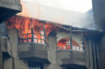 Fire spreads after engulfing iconic Glasgow art school building