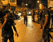Army deploys in tense Beirut after deadly clash