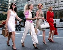 White is the new black at NY Fashion Week