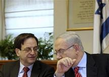 Netanyahu in 'intensive contacts' with US on peace