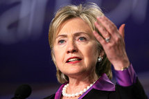 Clinton quips: You should hear what they say about us