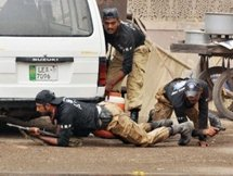 More than 80 dead in Pakistan suicide bombing and raids