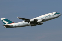 Cathay Pacific shares fall following major data breach