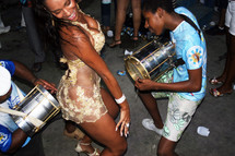 Rain, sweat and extra security as Carnival fills Rio