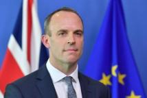 Britain's former Brexit secretary attacks draft deal with EU