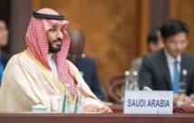 Saudi crown prince waltzes through first session of G20