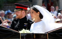 Prince Harry and Meghan issue new wedding photo on Christmas card