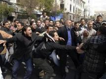 UN powers clash over Syria strife