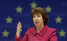 EU's Ashton vows backing to Libya rebels