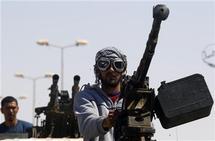 Battles rage in western Libya flashpoints: rebels