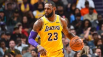 It's now back to serious Lakers work for James