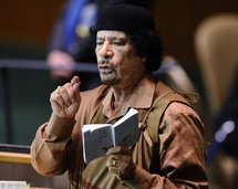 Kadhafi to stay out of Libya peace talks: AU panel