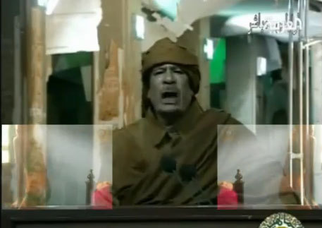 Kadhafi rules out talks with foes