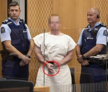 Christchurch terror suspect signals 'okay' as charged with murder