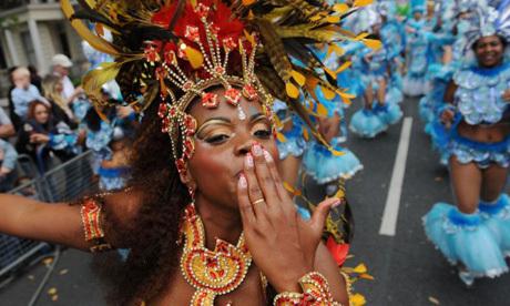 London rocks to carnival beat despite riot fears
