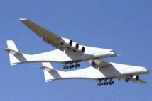 World's largest plane successfully completes first flight