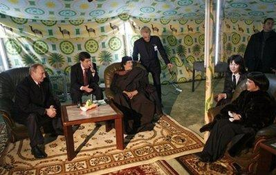 New Libya replaces Kadhafi's tent at UN