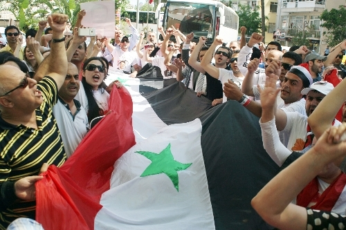 Syria opposition forms united front against Assad