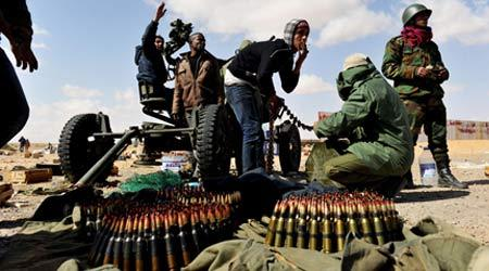 NATO weighs end to Libya campaign