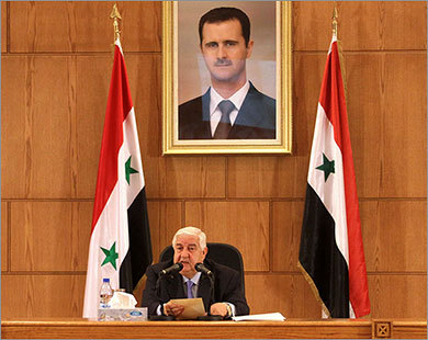 Syria warns of reprisals for recognition of opposition