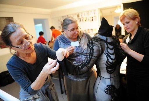 French designer puts ethnic Romania on catwalk