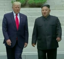 Trump and Kim agree to restart talks during DMZ meeting