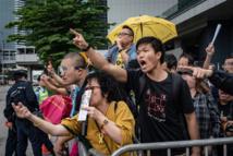 Hong Kong protesters attempt to break into legislature