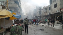 Car bombing kills 13 in Turkey-backed rebel town in northern Syria