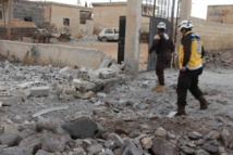 Airstrikes on Idlib and shelling on north Syria kills 50 people