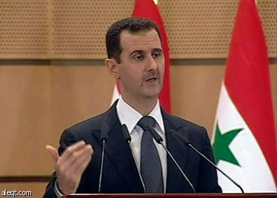Assad vows to crush 'terrorism' with iron fist
