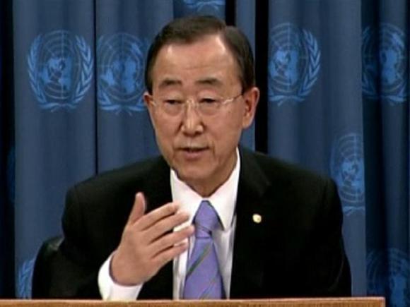 UN chief tells Assad path of repression is 'dead end'