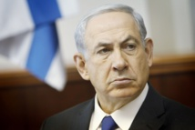 Netanyahu speech interrupted as rockets fired at southern Israel