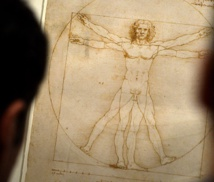 Italy to loan Leonardo's famous 'Vitruvian Man' drawing to France
