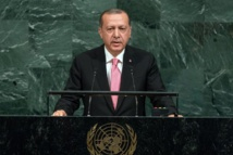 Erdogan takes case to UN for 'safe zone' in Syria to host refugees