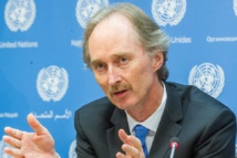 UN envoy will not specify timeline, goals ahead of Syria talks