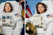 NASA astronauts achieve milestone with historic all-female spacewalk