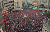 Protest and party: Lebanese crowds demonstrate, sing and dance