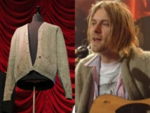 Kurt Cobain's iconic cardigan sells at auction for record price