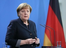 Merkel urges Europe to defend human rights on Berlin Wall anniversary