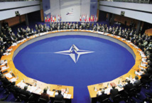 NATO leaders set aside discord to affirm strength of alliance