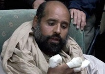 ICC says Kadhafi son to face justice, eventually