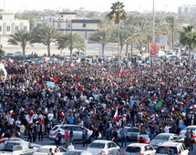 Thousands stage anti-police march in Bahrain