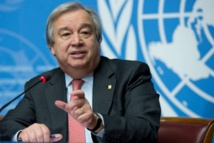 UN chief calls for a 'war-time' response to pandemic by G20 nations