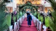 Pray for next year: Lebanese Christians mark Palm Sunday in lockdown
