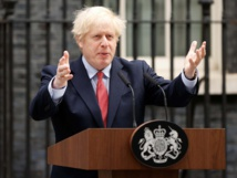 Johnson: Britain 'turning tide' on coronavirus but risks second peak
