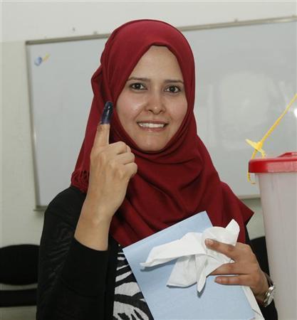 EU's Ashton commends Libya vote